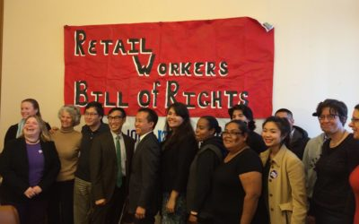 Retail Workers Bill of Rights